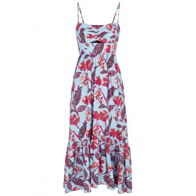 A.L.C. Emilia floral-print cotton-blend midi dress Autumn SC423668