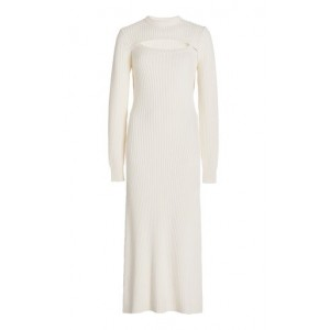Rosie Assoulin Women's Exclusive Thousand-In-One-Ways Wool-Cotton Dress Ivory 1860's Unique