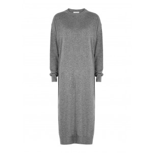 THE ROW Women's Anibale grey cashmere jumper dress 1860's SC411785