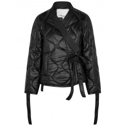 3.1 Phillip Lim Girl's Tops Black quilted shell jacket Online Sale SC419254
