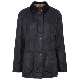 Barbour Women's Beadnell navy waxed cotton jacket SC412373