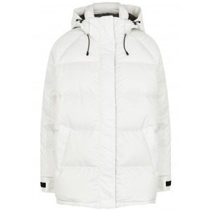 Canada Goose Women's Outwear Approach off-white quilted shell jacket Winter Trends SC417652