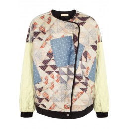 Free People Girl's Outwear Rudy quilted patchwork bomber jacket SC431971