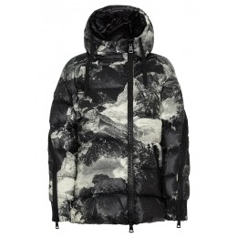 Moncler Women Outwear Liriope printed quilted shell jacket SC398936