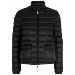 Moncler Women's Tops Lans black quilted shell jacket Brand SC424124