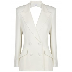 Monot White cut-out blazer SC415632