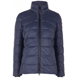 Canada Goose Women Abbott navy quilted shell jacket Petite Sale Online SC412180