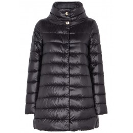 Herno Girl's Icon black quilted shell jacket Summer SC412119