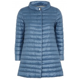 Herno Women Tops Icon blue quilted shell jacket SC406261