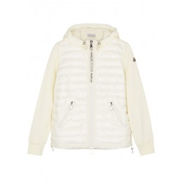 Moncler Clothing Maglia cotton and shell jacket SC314576