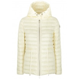 Moncler Girl's Raie ivory quilted shell jacket SC430683
