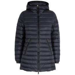 Moncler Women Clothing Ments navy quilted shell jacket Winter Black Friday SC424128