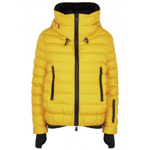 Moncler Women's Tops Vonne yellow quilted shell jacket Winter SC406400