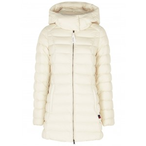 Woolrich Outwear Eco off-white quilted shell jacket Online Shopping SC418293