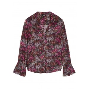 Paige Women's Abriana printed silk-chiffon blouse Blouses for Work SC430588