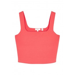 A.L.C. Women Tops Victoria pink cropped stretch-knit top Athletic SC423669