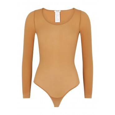 Wolford Women's Buenos Aires caramel bodysuit Shapewear New Look SC364071