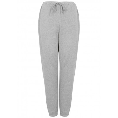 American Vintage Girl's Pants Neaford grey mélange stretch-cotton sweatpants Summer SC407140