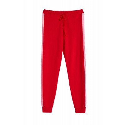 Chinti & Parker Pants Red ripple wool-cashmere track pants Size L Online Sale SC362280