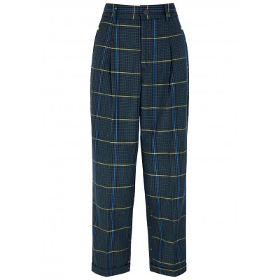 HIGH Women's Rational checked tapered trousers Petite Sale Online SC406101