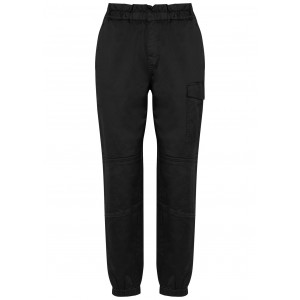 J Brand Clothing Piper black satin-twill cargo trousers Comfy Cheap Online SC417806