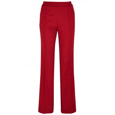 Moncler Dark red jersey sweatpants For Sale SC273607