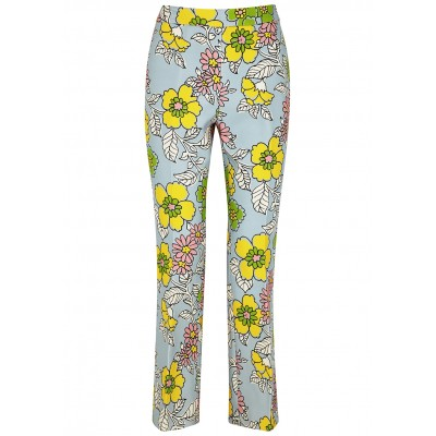 Tory Burch Women's Floral-print trousers Petite New Look SC422808