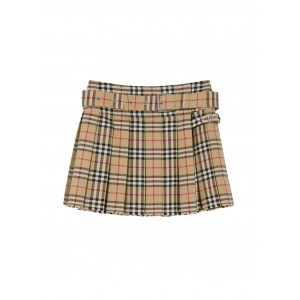 Burberry Outwear Vintage check wool twill kilt 1920s For Sale SC361725