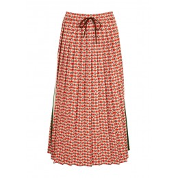 Gucci Tops Monogrammed pleated jersey midi skirt Trends SC426984