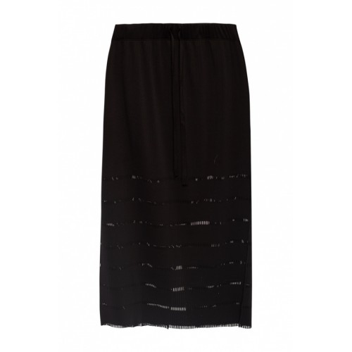 Issey Miyake Pleats Please Ribbed skirt 1920s Classic Fit DRHUNKR