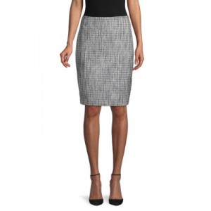 Karl Lagerfeld Paris Tweed Pencil Skirt STEEL Online UIGVDEW