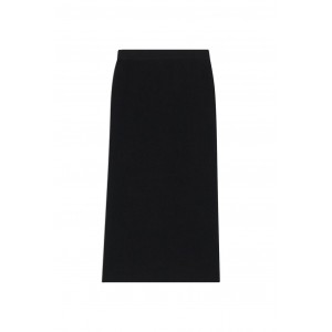 Theory Women Ribbed midi skirt in compact crepe 1940's High Quality SC432513