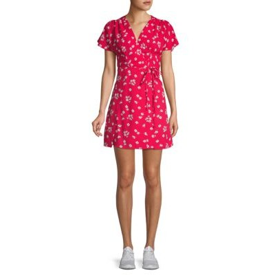 French Connection Women's Tops Floral-Print A-Line Dress AZALEA MULTI Summer