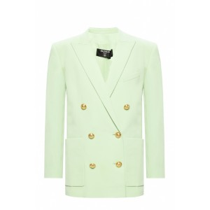 Balmain Women Outwear Double-breasted blazer Size XS Unique FWMJDTC