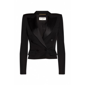 Saint Laurent Women's Double-breasted blazer Plus Size XMZHTCX