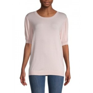 7 For All Mankind Girl's Puffed-Sleeve Sweater  HUILMGV