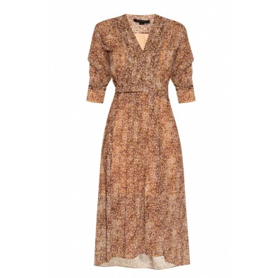 AllSaints Girl's Clothing 'Ina' patterned dress Loose fit Unique GRFNAJO