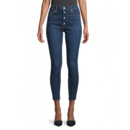 7 For All Mankind High-Rise Ankle Skinny Jeans FLETCHER Size 32 Wholesale QKITXFF