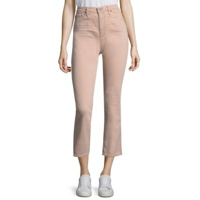 AG Jeans Women's Clothing Isabelle High-Rise Crop Jeans ROGUE KLWWWSK