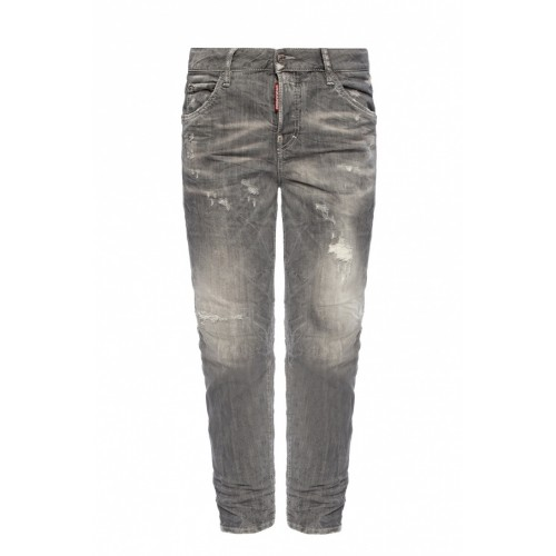 Dsquared2 'Cool Girl Jean' raw edge jeans New Look DQQLZBS