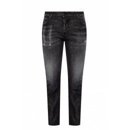 Dsquared2 Girl's Pants 'Cool Girl Jean' raw-cut jeans 27 inch leg DVQIOFH