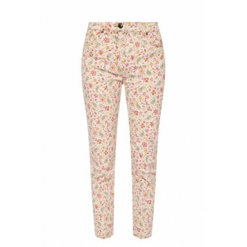 Etro Women Pants Floral-printed jeans Size Chart Designer AFSARSO