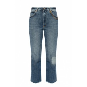 Givenchy Women's Jeans with raw edge  GHXQMPZ