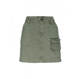 Hudson Women's Pants Hunter Mini Cargo Skirt MILITARY OLIVE Size 27 New Look YMNTBXI