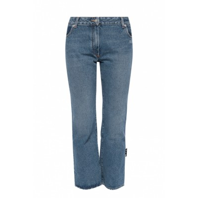 Off-White Women's Jeans with logo  IMRYSTA