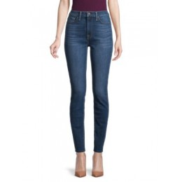 7 For All Mankind Girl's Pants Gwenevere High-Rise Skinny Jeans ATHENS BLUE ZABKLEA