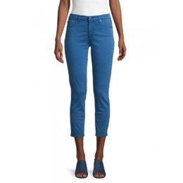 AG Jeans Girl's Clothing Sateen Prima Mid-Rise Crop Jeans BLUE Size 30 JWFJOFR