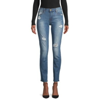 Articles Of Society Women Pants Shannon Destroyed Cigarette Jeans CORPUS Maternity YHFMJPY