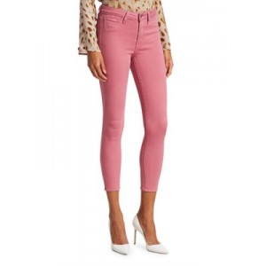 L'Agence Pants Margot High-Rise Skinny Jeans WILDROSE The Best PQUJFCD