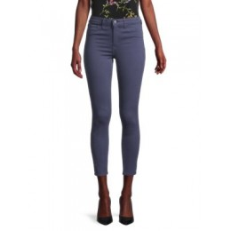 L'Agence Women's Clothing Margot High-Rise Skinny Ankle Jeans SEA BLUE Stretch AKXYNOE